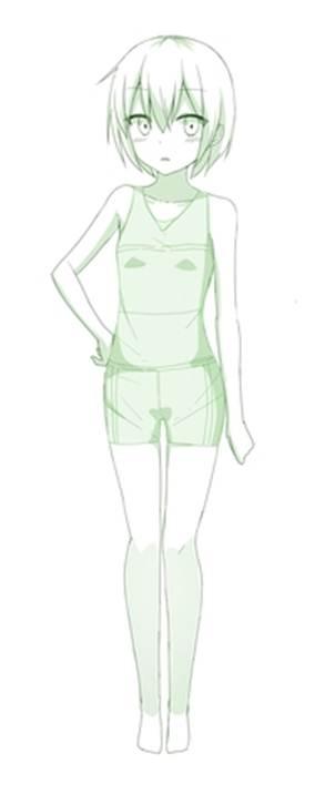 【推荐】动漫少女泳衣画法—轻微课漫画素材教程区