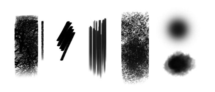 数字绘画基础教程之《森林中的人》—轻微课CG绘画教程专区