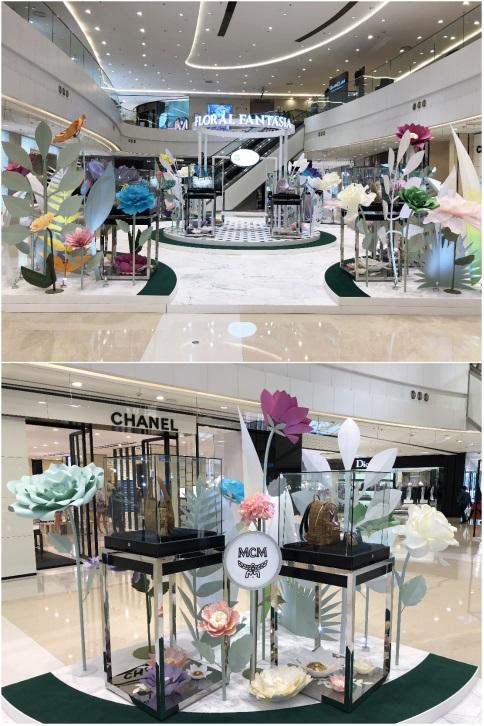 大连时代广场携手MCM演绎2018春夏新品时尚创意