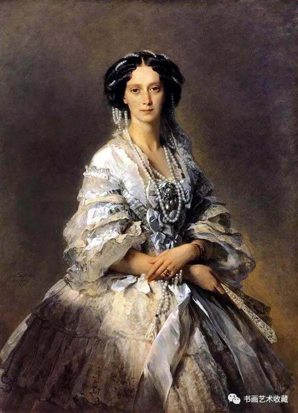 世界经典名画_世界油画经典:名画中的典雅女人