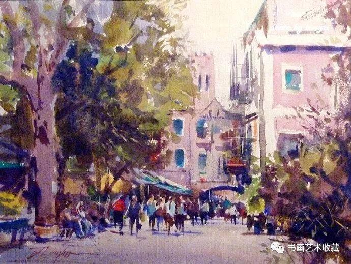 澳大利亚绘画:大师级的水彩作品
