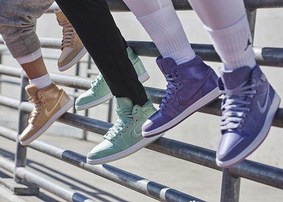 Jordan领衔的球鞋文化或许要展现女性的声音和色彩了