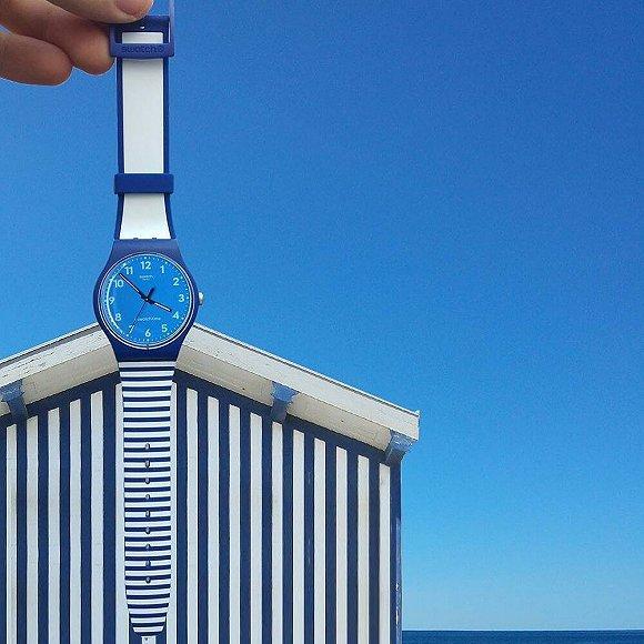 纪梵希把十二星座挂上耳朵  Swatch里有地中海的沙滩和海浪