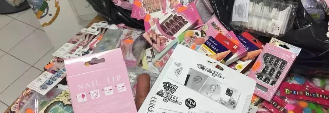 意大利华人商店刚开张 就被查处逾10万件商品