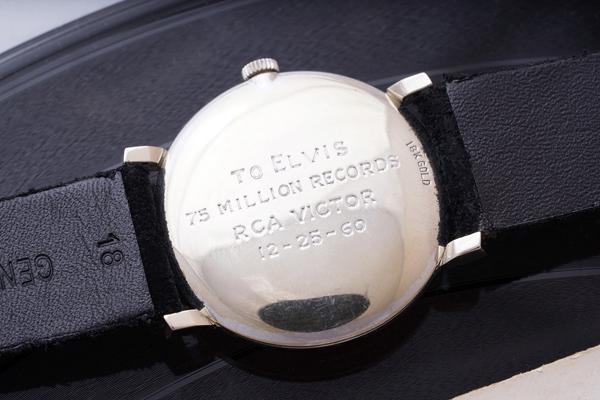 """""""猫王""""Elvis Presley的欧米茄腕表以150万瑞士法郎成交"""