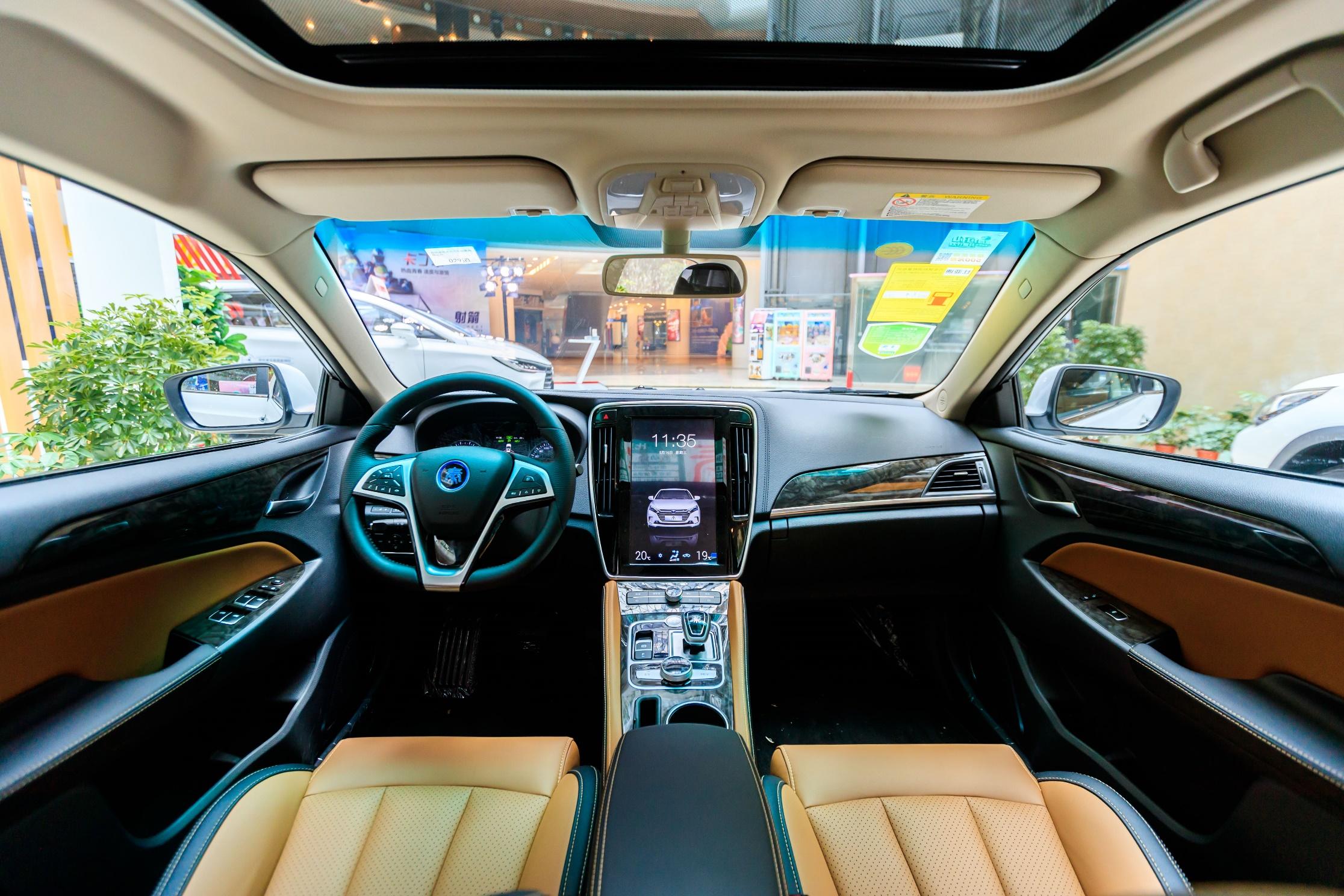 颜值与实力并存 比亚迪众明星车型亮相盘锦