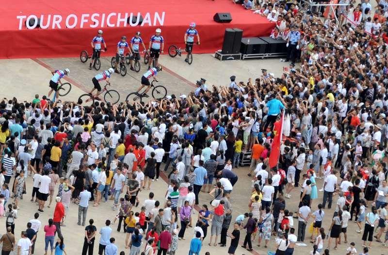 环四川自行车赛带动宁南全产业链发展