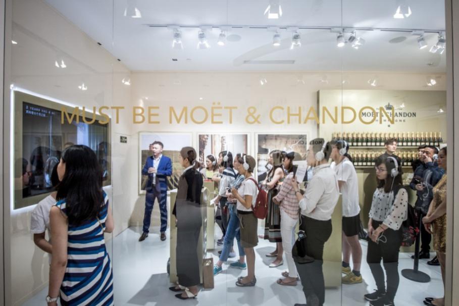 巨细闪光时辰,酩悦从未出席 酩悦香槟全新品牌理念Must Be Moët环球公布