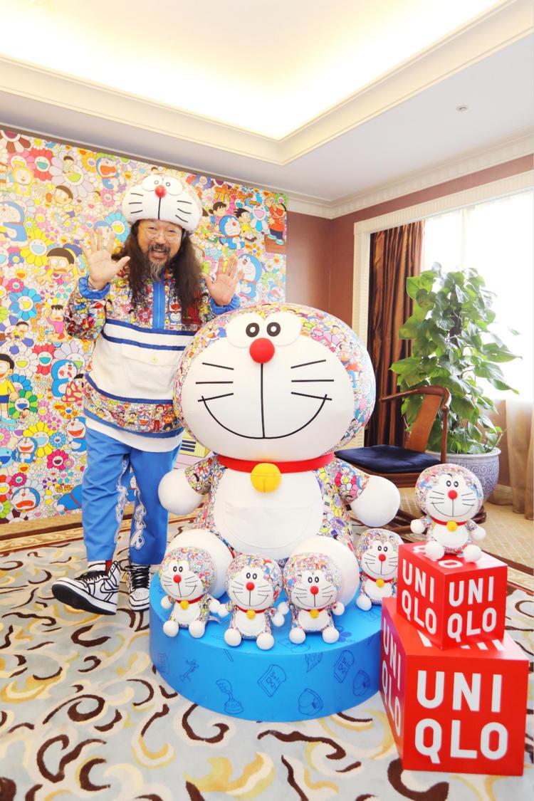 优衣库的哆啦A梦UT卖得很好 村上隆聊了这次的合作(图1)