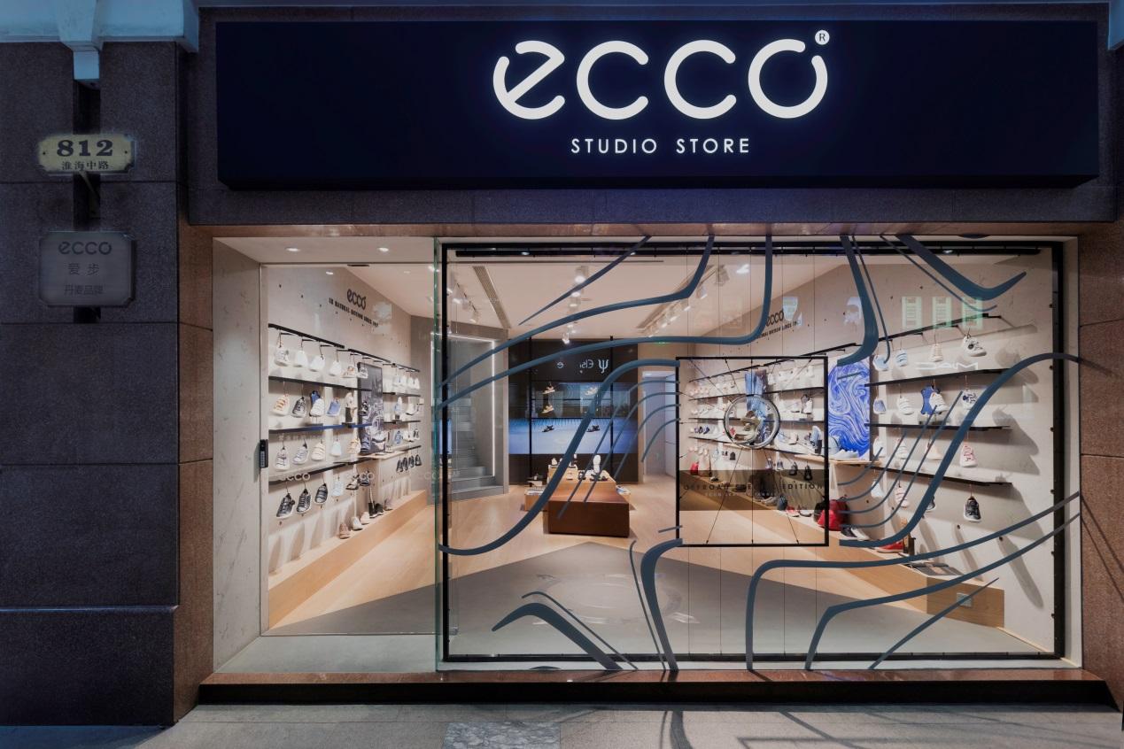 ECCO STUDIO STORE 强势骇入魔都