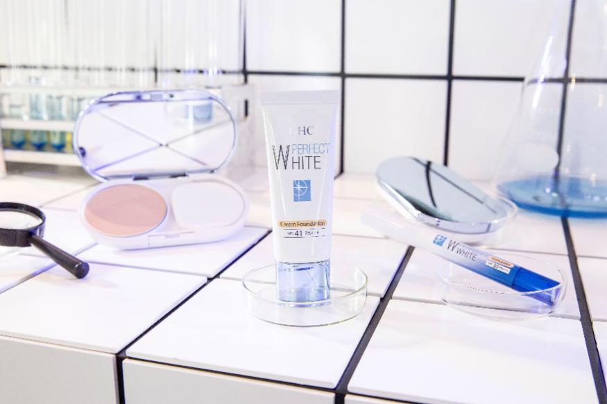 DHC晶透臻白新品上市,开启专属你的美白「滤镜」
