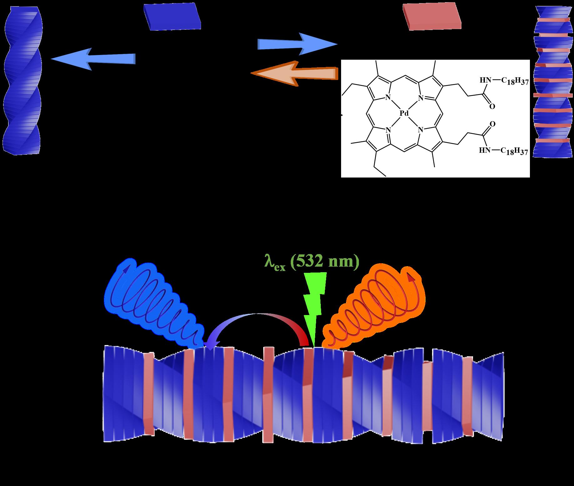 国家纳米中心在分子组装体系上转换圆偏振发光领域取得进展