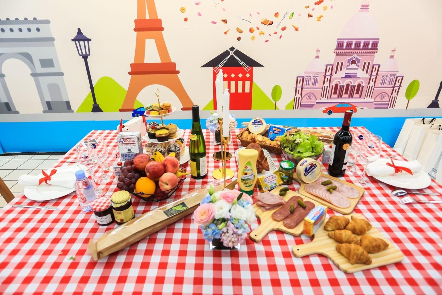 消费者的味蕾盛宴 法国美食周在上海家乐福开幕