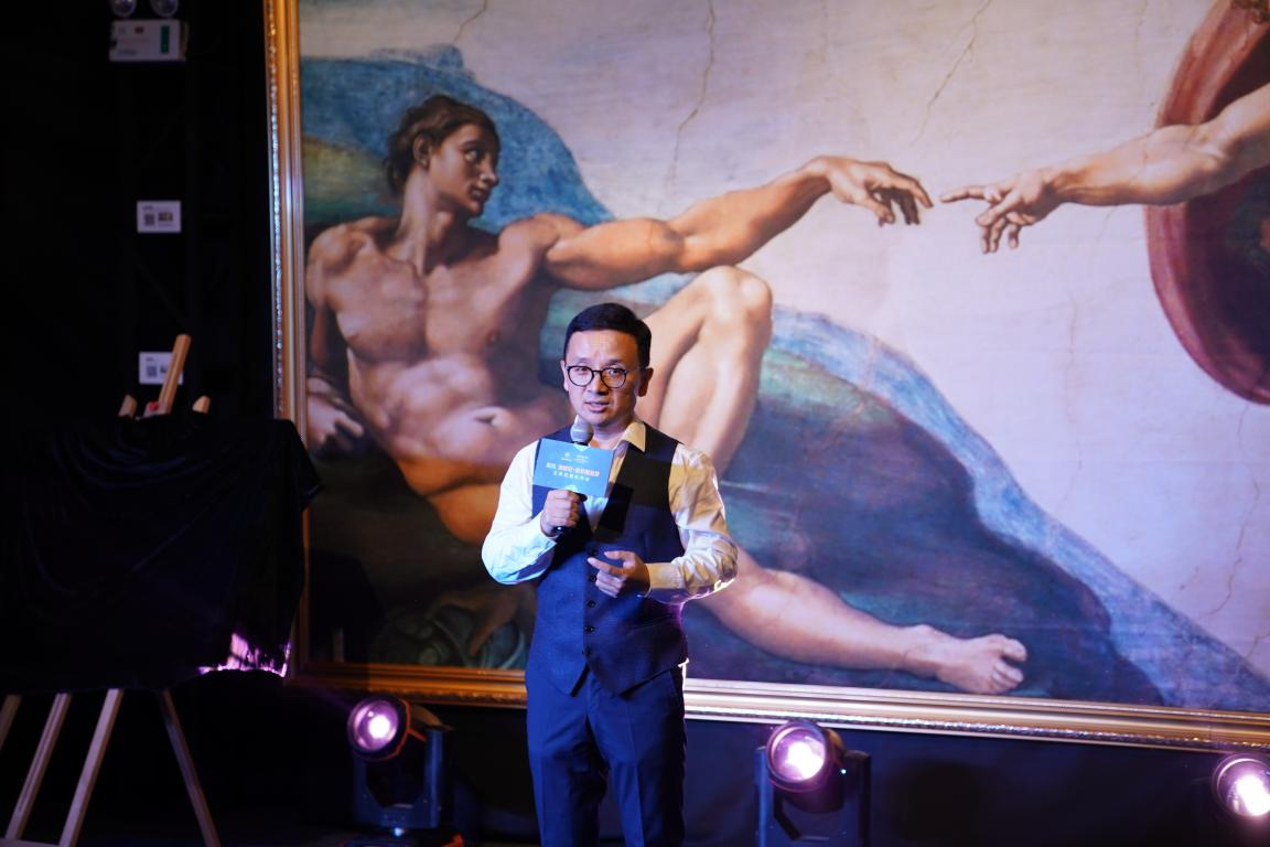 米开朗基罗全球巡展降临杭城,沉浸式体验巅峰的意式美学