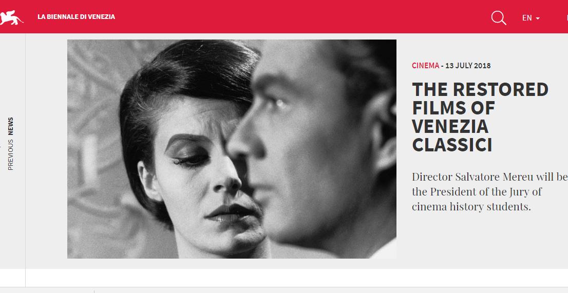 Chanel 公司赞助修复60部有Chanel女士设计服装的经典电影(图)