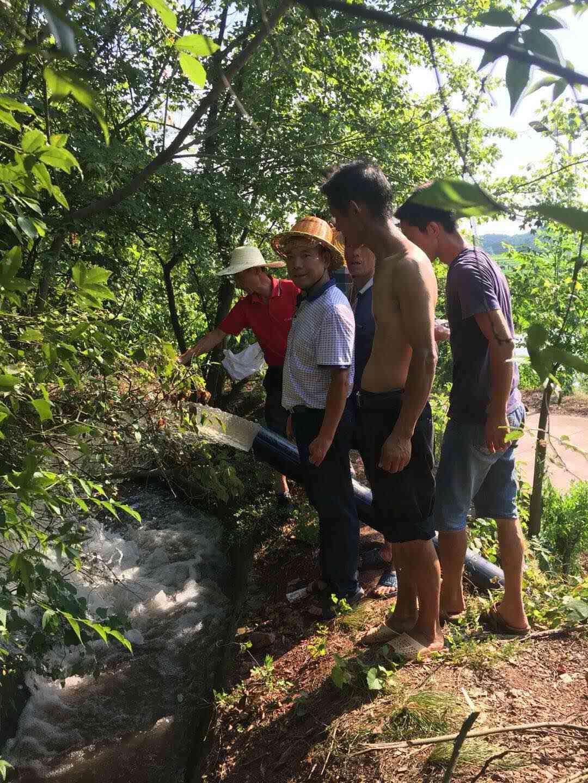 旱灾持续 湖南衡南县泉湖镇积极开展抗旱自救工作
