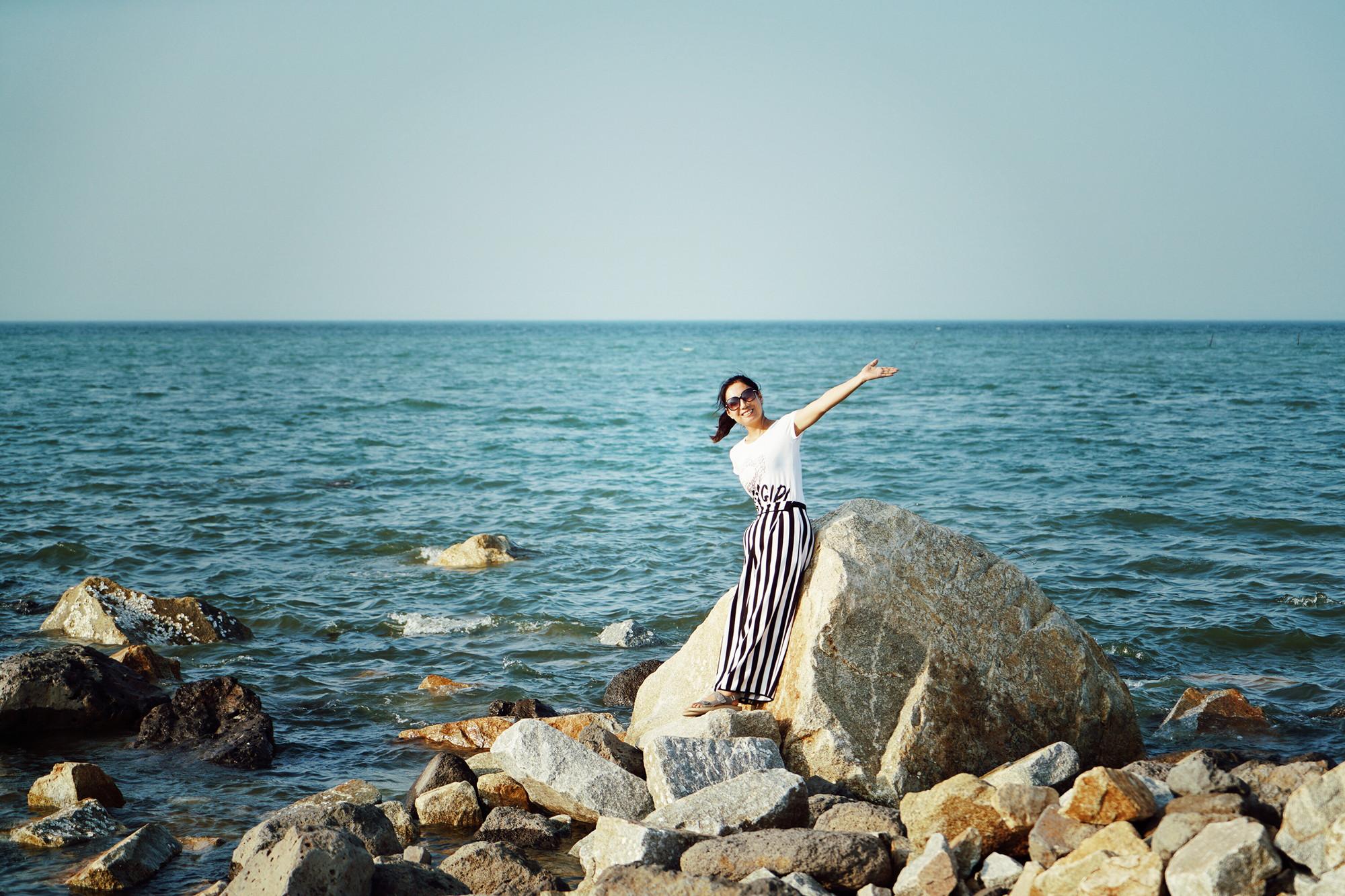 融创•东海湾还有一个网红打卡地,来了就不能错过,浪漫的纸色