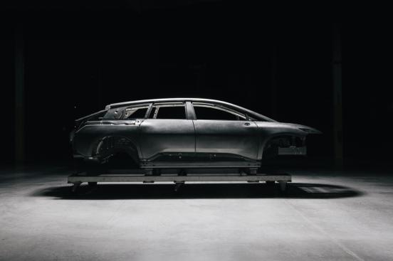 FF 91首台白车身完成 汉福德工厂启动整车组装