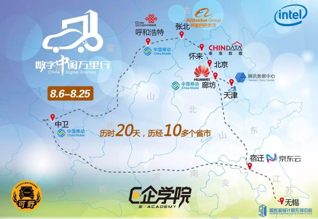 """探秘北方数据网格 2018年""""数字中国万里行""""活动启程"""