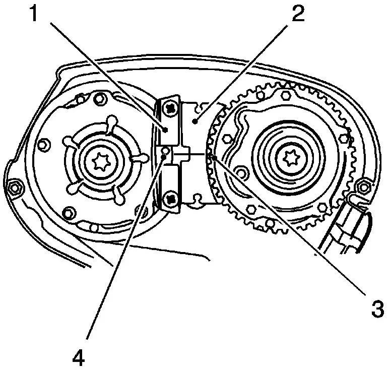 科鲁兹1.6/1.8发动机正时皮带拆卸要点(正式校对)