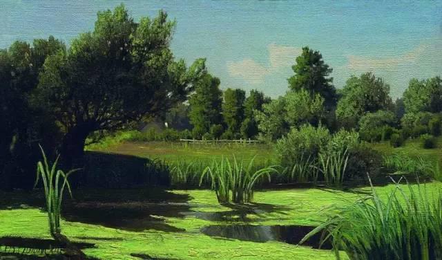 油画入门324|油画风景合集,出去写生少不了的素材库