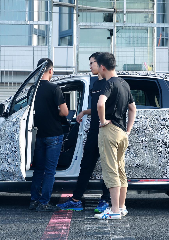 电咖ENOVATE首款SUV启动测试 对标特斯拉