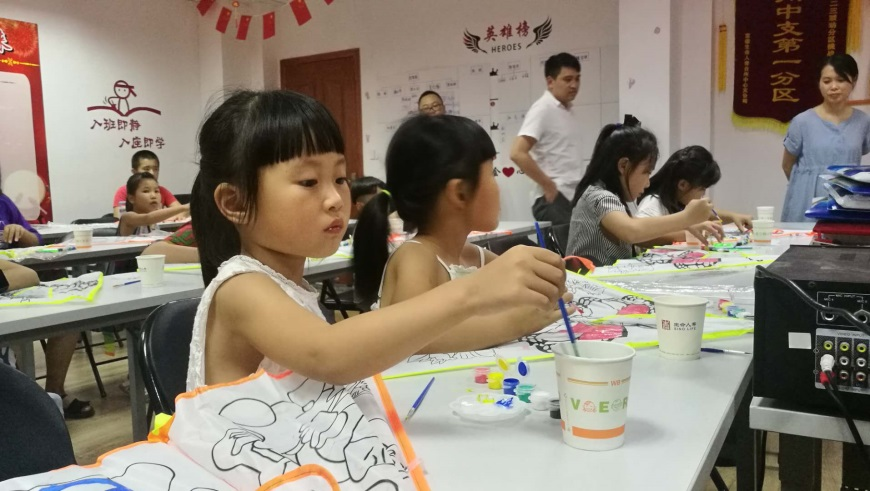 富德生命人寿台州中支第十二届客服节之色彩飞扬DIY活动圆满结束