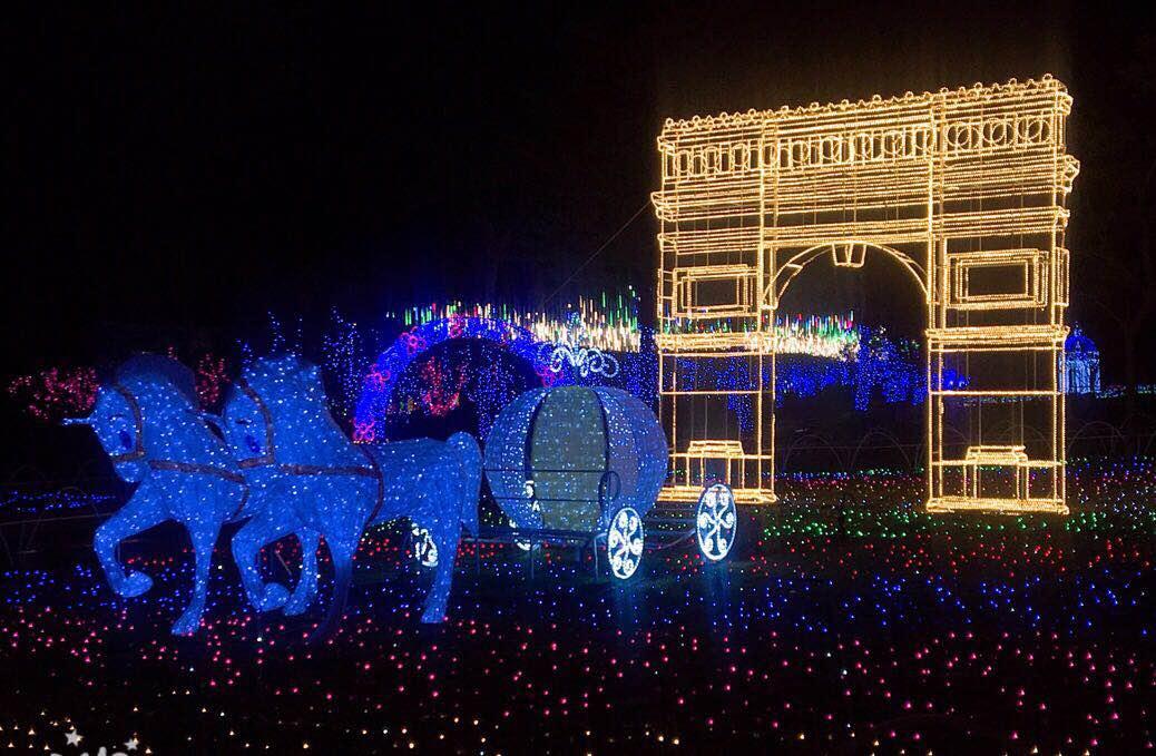 2018年中秋/国庆来泉州海丝樱花园享受不容错过的灯光盛宴