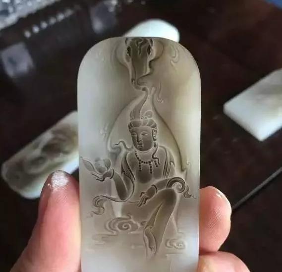 独立创意设计玉雕素材雕刻收藏品欣赏