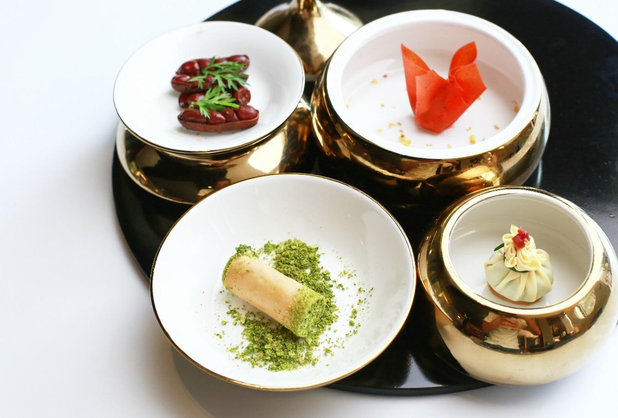 西式珍馐与京味的完美融合,5J携手新京菜大师演绎全套中式定制菜单