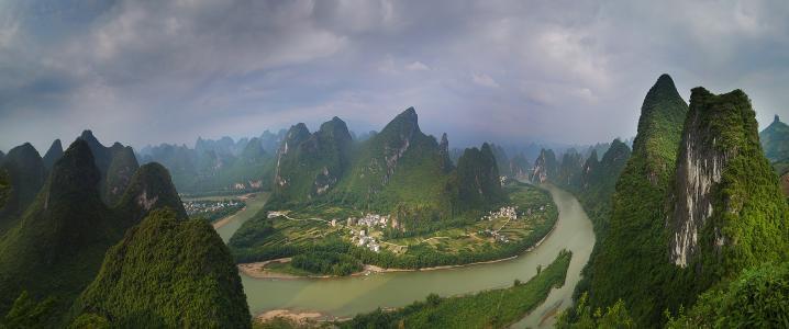 10月份国内最佳旅游地,网红都去打卡的桂林,阳朔,龙脊梯田旅游攻略