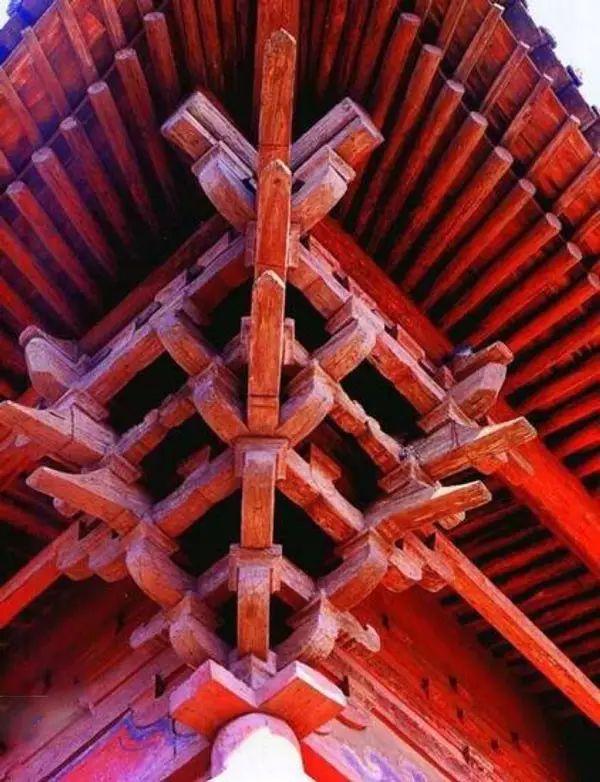 中国古建筑中的斗拱之美