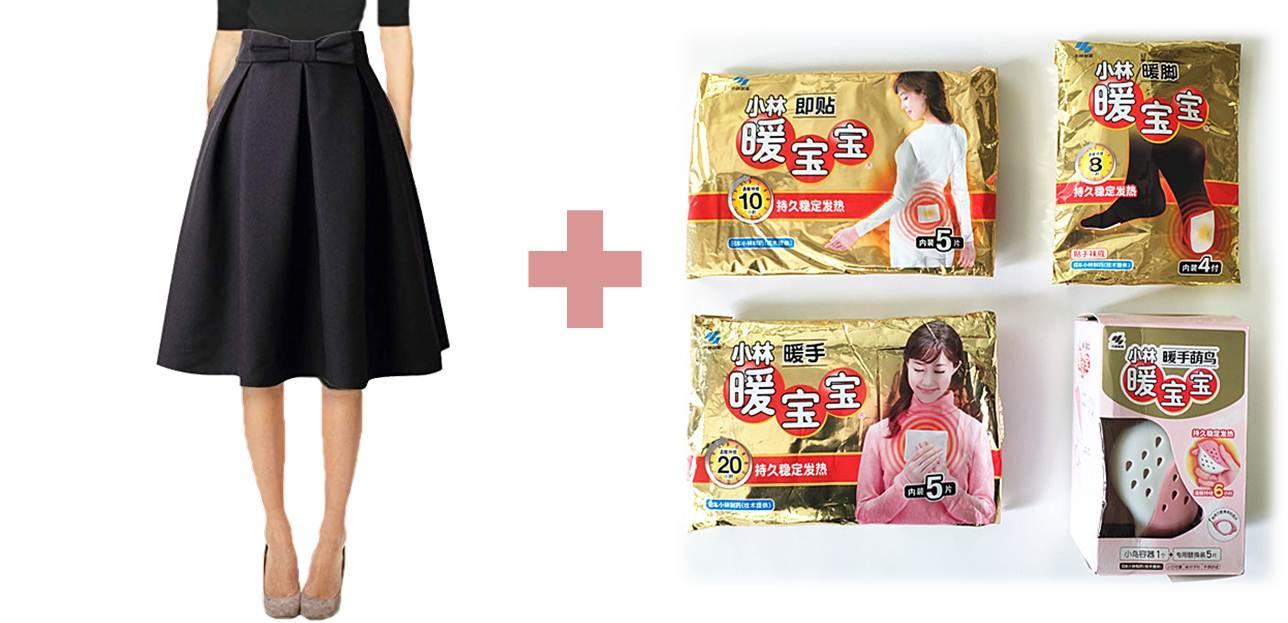 日本女生大冬天光腿穿短裙的秘密是