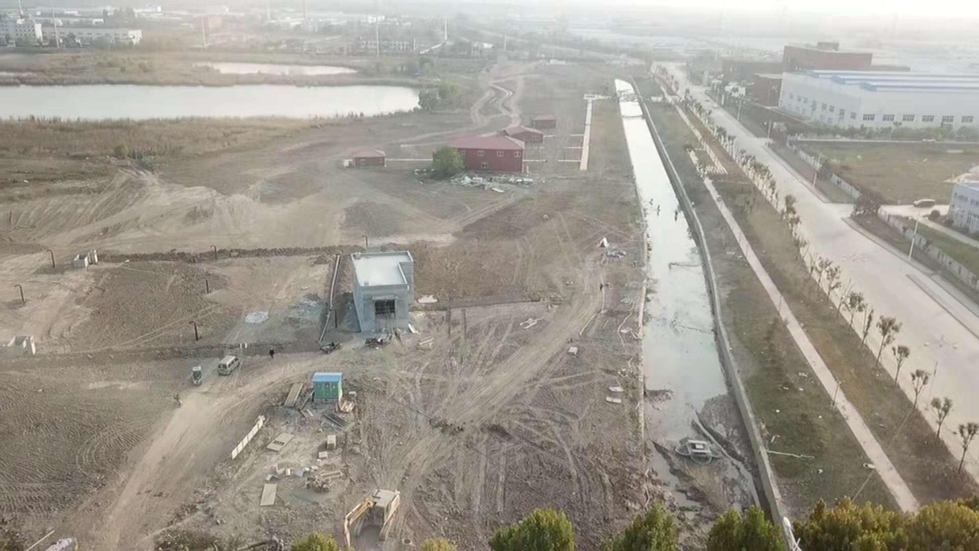 安徽淮北污染综合治理工程质量惹争议