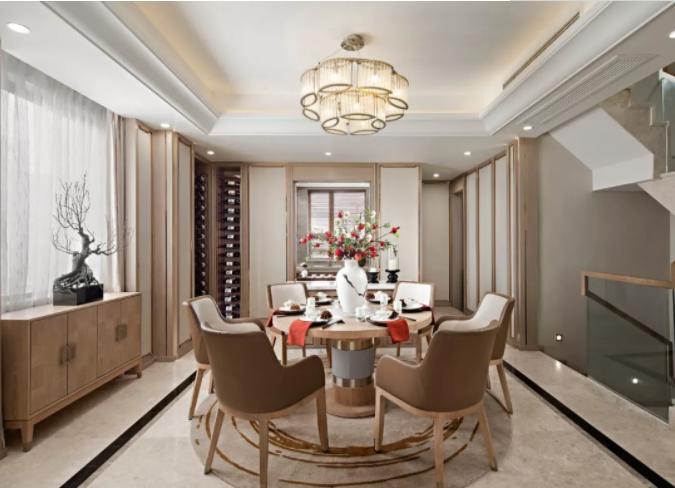 武漢新中式別墅裝修風格