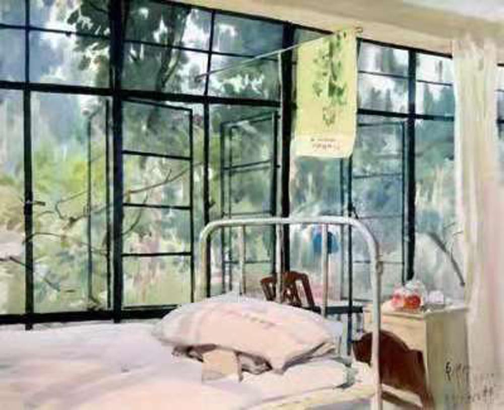 彩墨丹青:当代著名画家陆铎生艺术赏析