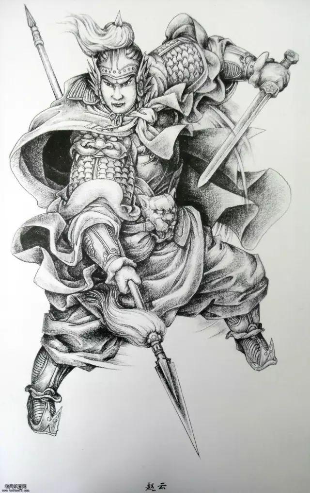 玉雕素材 战国里的英雄美女(人物素描)