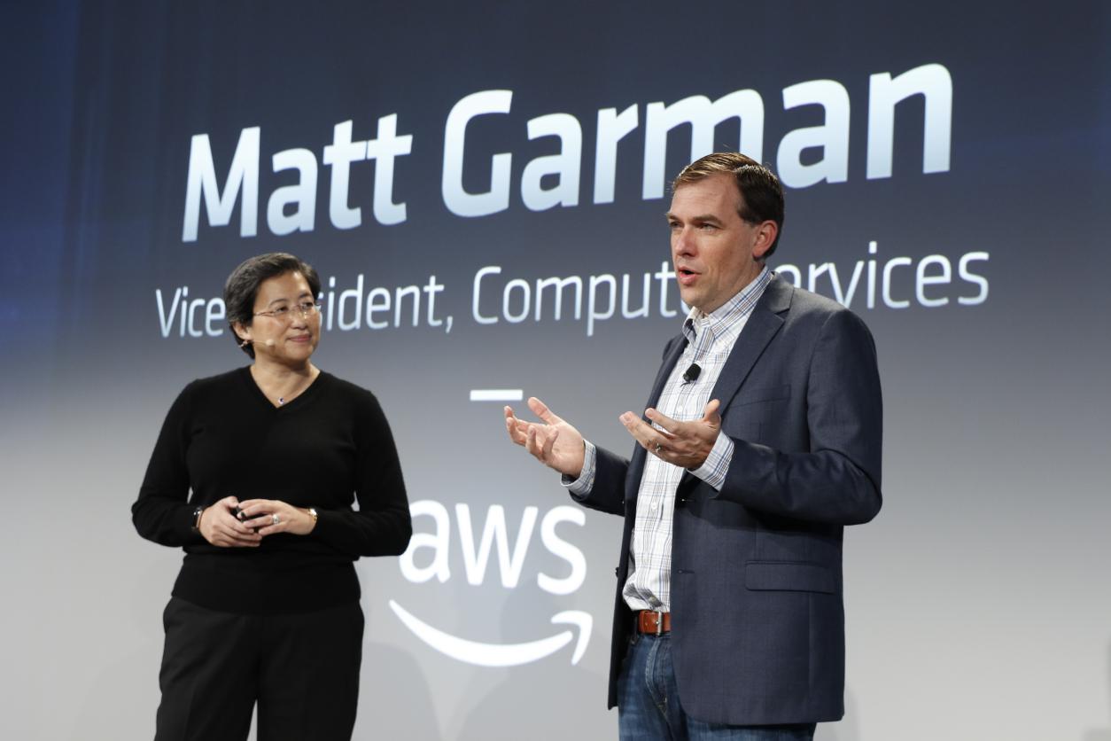 Lisa Su with Matt Garman of AWS_Next Horizon