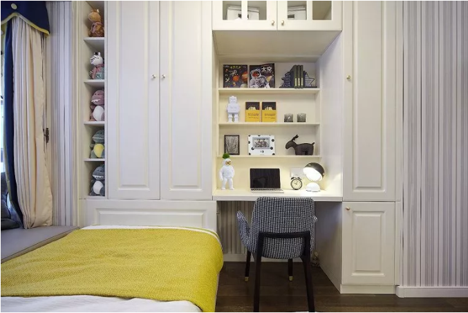 116㎡三室一厅改造装修效果图