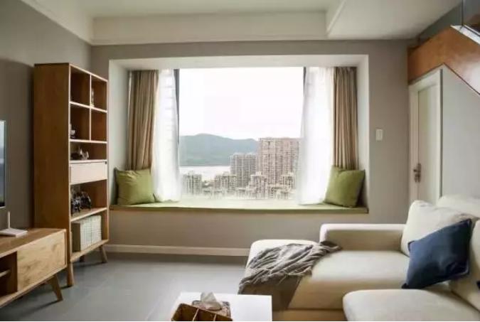 武汉80㎡小复式楼装修效果