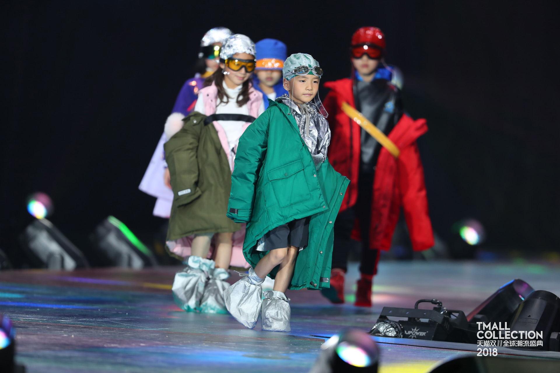 国潮童装崛起!继获得风尚品牌大奖后,MQD再度登上天猫潮流盛典