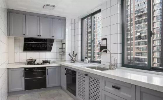 厨房混搭风装修效果图