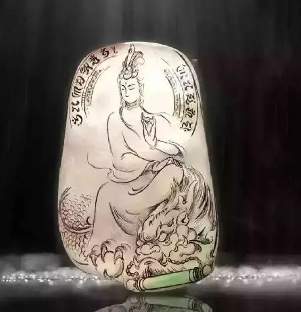玉雕大师创意玉石挂件设计素材欣赏