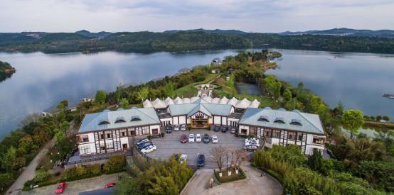 酒店鸟瞰全景