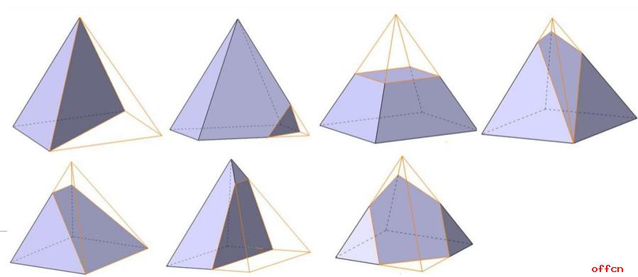 另外,圆台的截面性质跟圆锥相似,在本文中不做介绍.