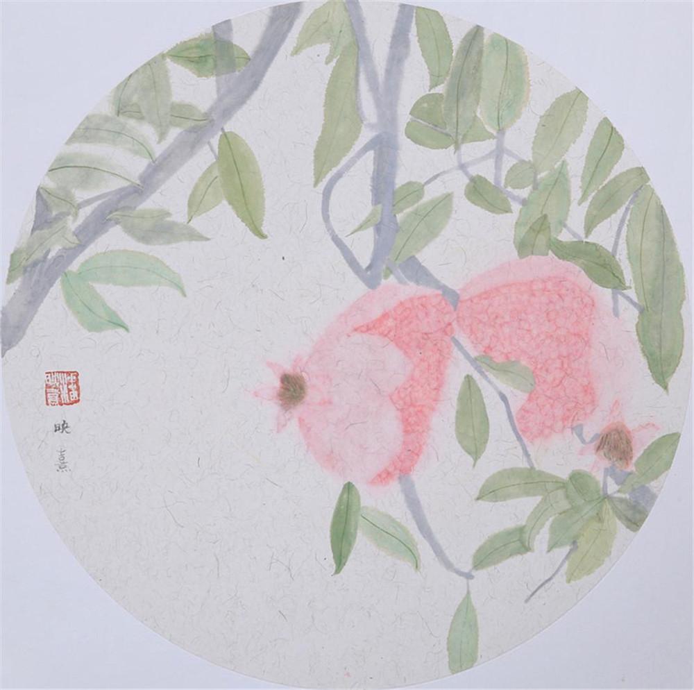 无相空明:潘映熹笔下的彩墨花木世界