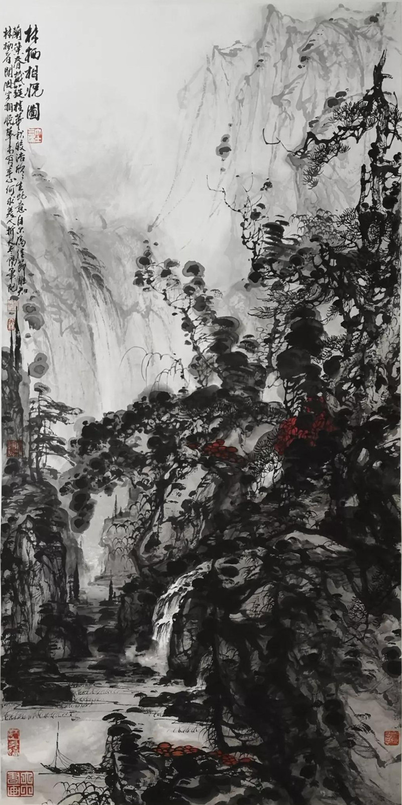 """""""循道——大土三阳中国山水画艺术学术观摩展""""即将在北京荣宝斋举办"""