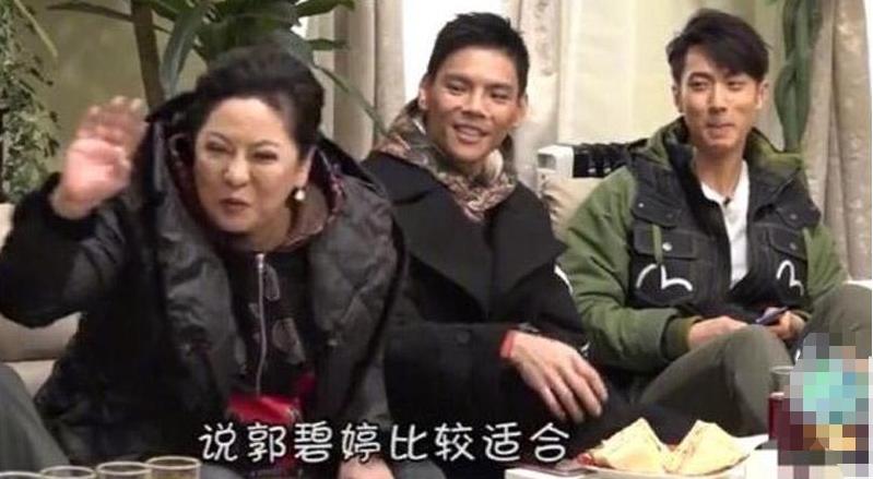 向佐与郭碧婷新恋情疑似官宣,原来向太曾在节目中表过态
