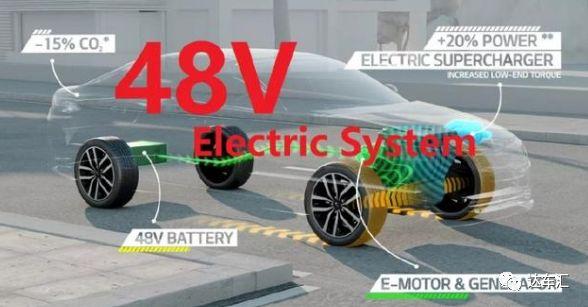 纯电动车满足不了续航需求 48V轻混车了解一下