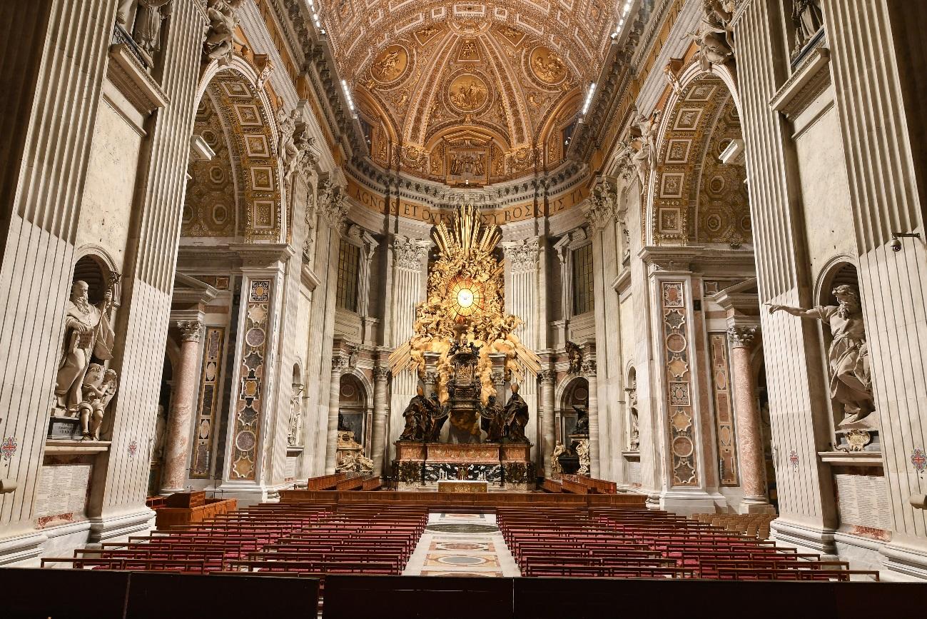 艺术与技术的融合:欧司朗全新照明系统闪耀圣彼得大教堂